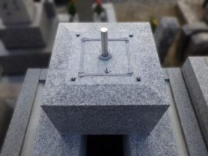 墓石傾き修繕